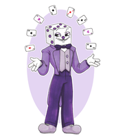 King Dice. by vaktelle