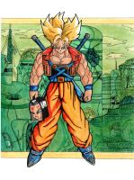 Future Trunks by hectanex