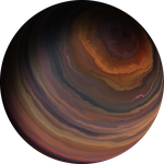 Colorful Gas Giant 6 by Anikoo