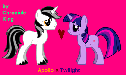 Apollo x Twilight 2nd verison by ChronicleKing
