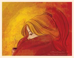 Lily is sick by LilyRedHaired