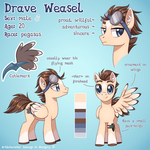 Drave Weasel reference 2017 by Margony