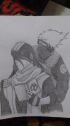 Byakuya and kakashi by chibibookworm221