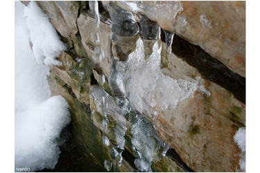 Ice On the wall by iwan96