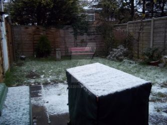 Snowfall in April 2013 by Bumble2011