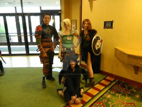 how to train your dragon cosplay at geek kon by luigiswayze