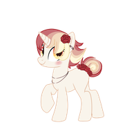 Rose pony CLOSED by StarDust-Adoptables