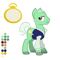 Reference Sheet: The Master (Jacobi) by LissyStrata