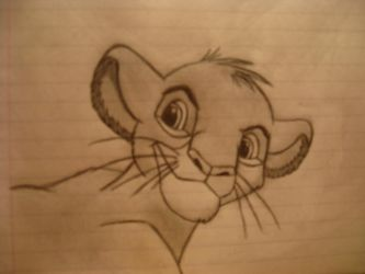 Simba from the Lion King by LCR10dogs