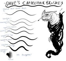 Dave's Camelhair Brush Set by Brollonks