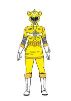 Yellow Hammerhead Ranger by kingtrae16