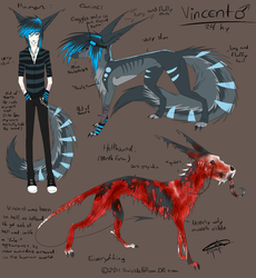 Vincent Fursona ultimate ref by SuicideHollow