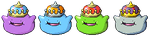 King Ditto BW Sprite by Axel-Comics