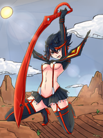 Kill la Kill by Kageyumi