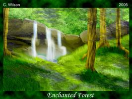 The Enchanted Forest by WindSeeker