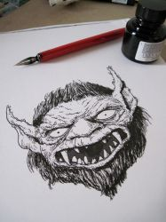 Bugbear scribble by JerryBoucher