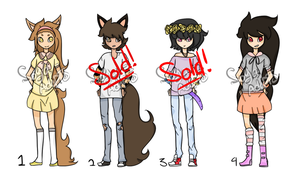 Themed adoptables! [2/4 Open!] by Soya-adopts