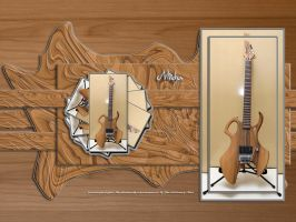 Micha's Custom Guitar by jaidaksghost