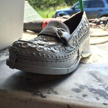 Miss Peregrine's Movie Emma Shoes WIP by GailFreebird