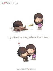 119. Love is... Picking Me Up by hjstory