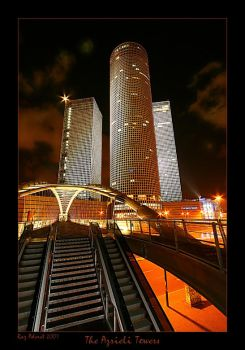 The Azrieli Tower by Aderet