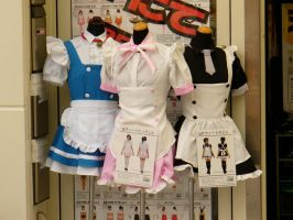 Tokyo: Maid Outfits by whatistug