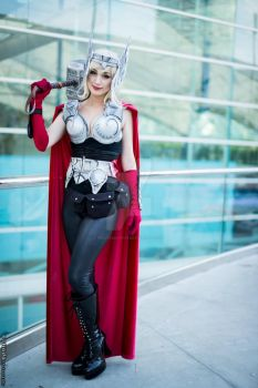 Thor Cosplay SDCC 2014 by piratesavvy07