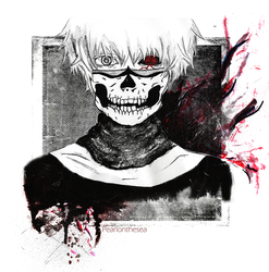 Kaneki Ken - Bring the inside out (Tokyo Ghoul) by Pearlonthesea