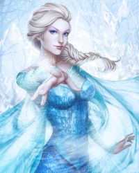 Ice Queen by WeijiC