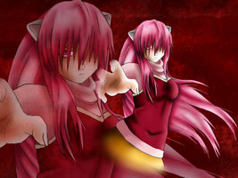 Elfen Lied Lucy by KazumiNoMegami