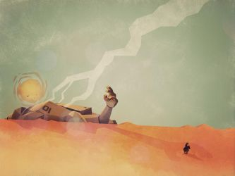 This Desert Is A Wasteland by SteveCourtney