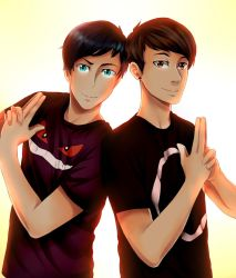 Dan and Phil by SkullDead