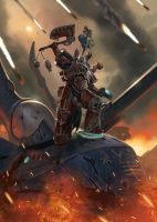 For the Blood God! by DiegoGisbertLlorens