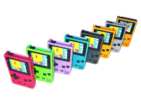 Gameboy Color 3-D Bead Sprites by DrOctoroc