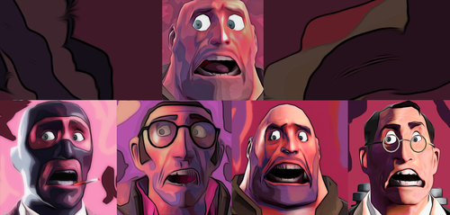 The Faces Of Fear by MisterMisteroO