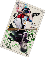 The Joker Card Suicide Squad by Davian-Art