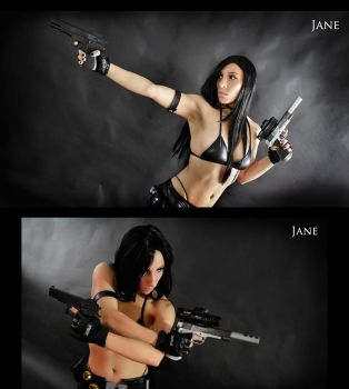 Assassin Jane Cosplay Commission 05 by Bastetsama-Cosplay