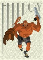 Townsend HELLBOY by TimTownsend