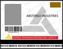 Abstergo Industries ID card by Haddrian