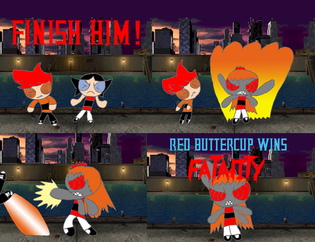 Red Buttercup's Secret Fatality by RCBlazer