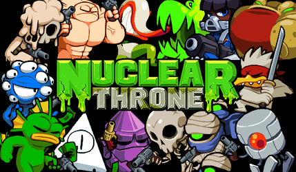 Nuclear Throne - Characters - Photoshop by Yuzandry