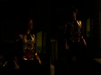 Iron Spider Cosplay (Avengers: Infinity War) by HeroGollum