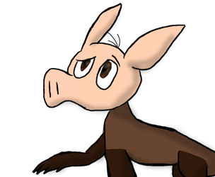 Weekly Animal 4 - Aardvark by OreotheCookieKitty