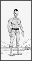 Beach guy by Brian-Evinou