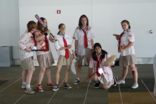 Bloody Girls by RozuOtakon2009