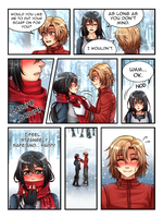 Commission: Kirita Chronicles Christmas Page 3 by manu-chann