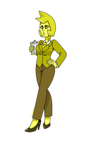 Office Yellow Diamond by MrChaseComix