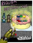 E-Comic: Requiem with a Birthday Cake by Negaduck9
