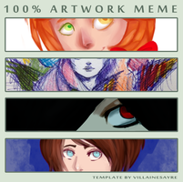100 artwork meme by matrioshkka