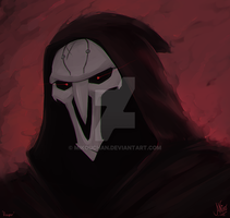 Overwatch: Reaper by Mikouchan